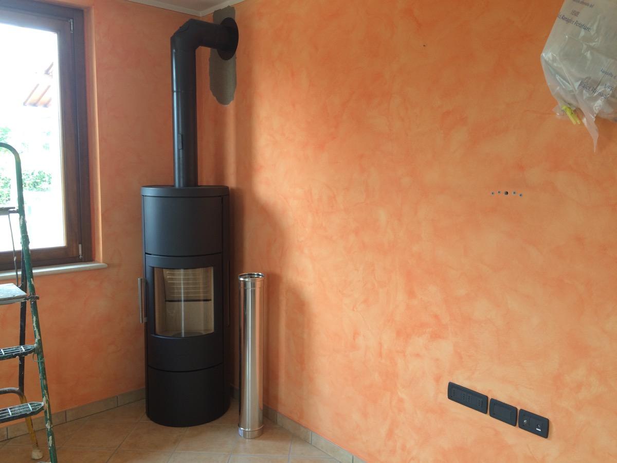 Beautiful Installazione Stufa A Legna Photos - Home Design Ideas ...